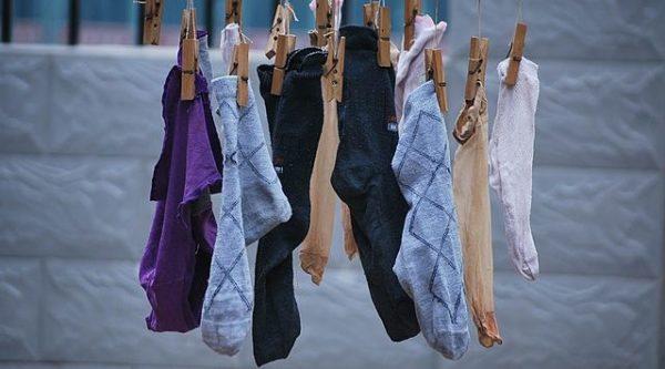Tradycyjny sposób suszenia ubrań